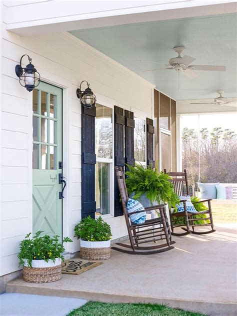 Front Porch Decor by Front Porch Decorating Ideas Rc Willey