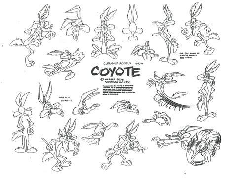 Wile E Coyote Model Sheet Ver 3 By Guibor On Deviantart
