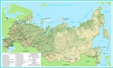 File:Map of the Russian federation Map showing Regions ...
