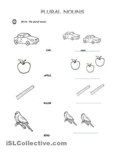 pin  ghada  grammar plural nouns worksheet singular