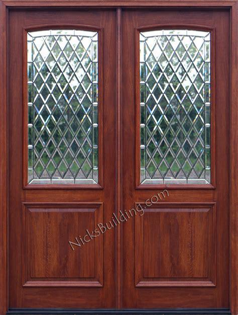 exterior double doors solid mahogany double doors