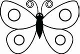 Butterfly Coloring Pages Drawing Simple Preschool Colouring Drawings Related Easy Clipart Sits Clipartmag Cute Getdrawings Printable Flower Monarch Getcolorings Ly sketch template