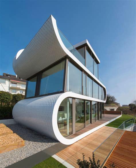 evolution design creates  unique modern home  zurich
