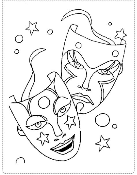 Desenhos de carnaval para colorir ENSINANDO COM CARINHO