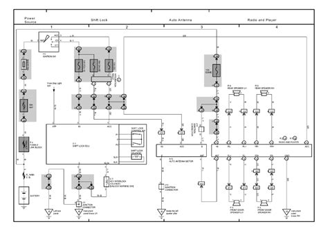 repair guides overall electrical wiring diagram 1999