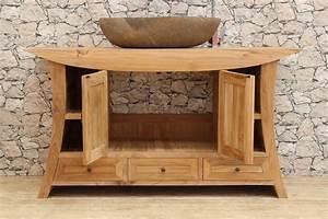 Waschtisch Aus Holz Für Aufsatzwaschbecken : waschbeckenunterschrank waschtisch unterschrank ~ Lizthompson.info Haus und Dekorationen