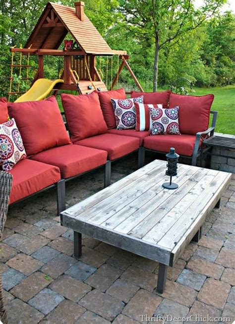 diy patio table  easy ways     bob vila