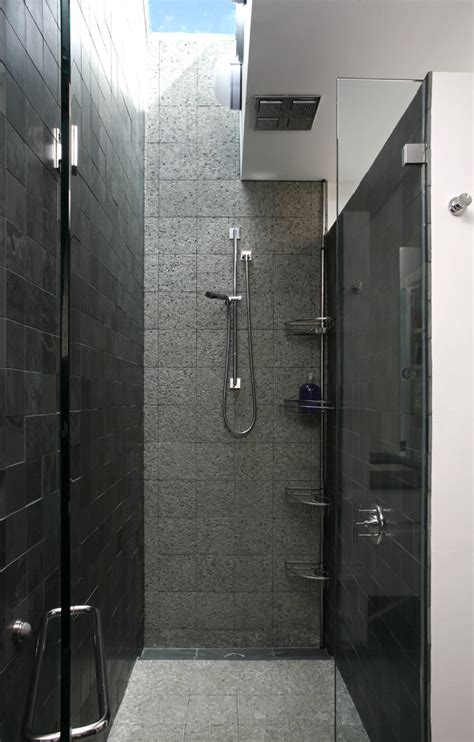 modern shower tiles modern shower caddy bathroom contemporary with beige stone wall double beeyoutifullife com