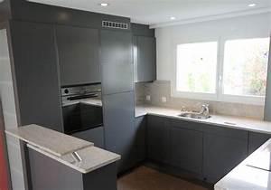 Küchenfronten Streichen Vorher Nachher : k che renovieren mit spritzen und lackieren top qualit t in z rich ~ Watch28wear.com Haus und Dekorationen