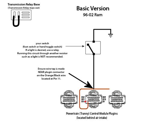 tc lockup switch schematic repost diesel bombers