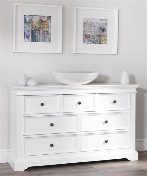 White Bedroom Chest Of Drawers Uk by Gainsborough White Bedroom Furniture Bedside Cabinets