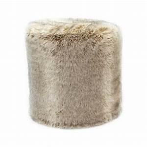 Pouf Fourrure Blanc : pouf fausse fourrure acheter ce produit au meilleur prix ~ Teatrodelosmanantiales.com Idées de Décoration