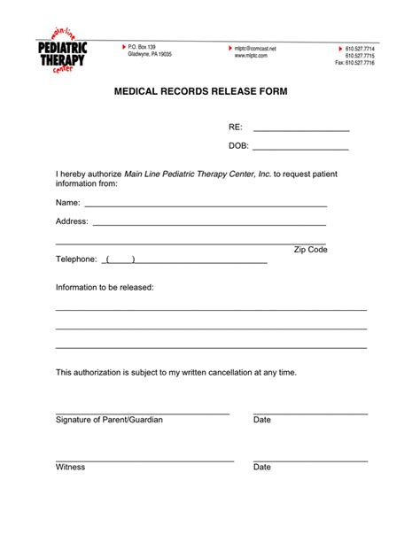 request for records form template records request form in word and pdf formats