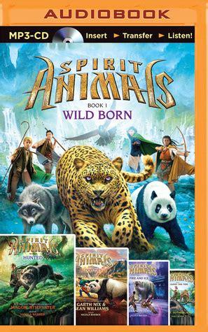 spirit animals wild born hunted blood ties fire  ice   tide  brandon mull