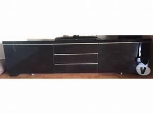 Meuble Tv Noir Ikea : meuble tv ikea besta clasf ~ Teatrodelosmanantiales.com Idées de Décoration
