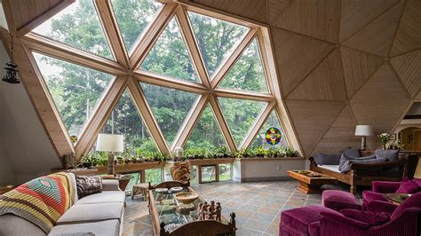 Dome Home Interior Design by Spaces Domes Environmentally Friendly Geodesic