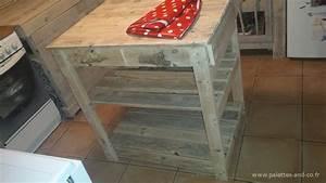 table cuisine palette transformez des palettes en une With awesome meuble de cuisine ilot central 4 comment fabriquer un 238lot central de cuisine en palettes