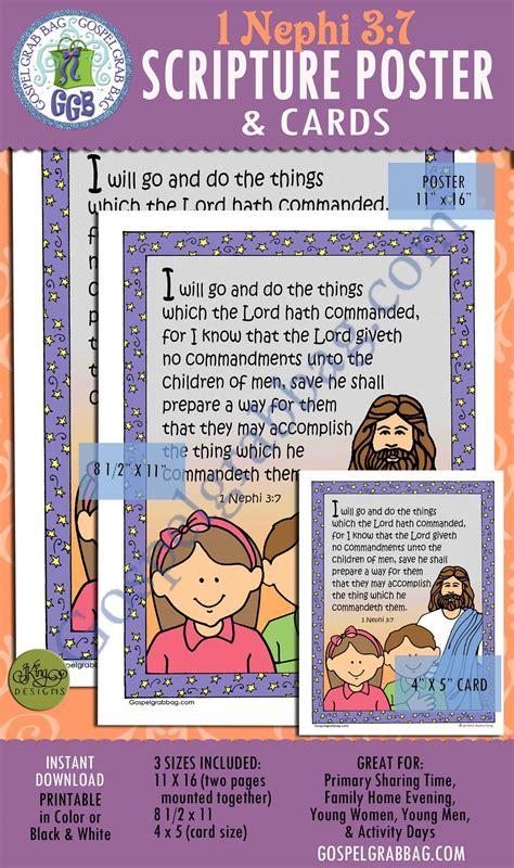 choose   gospel principles scripture poster