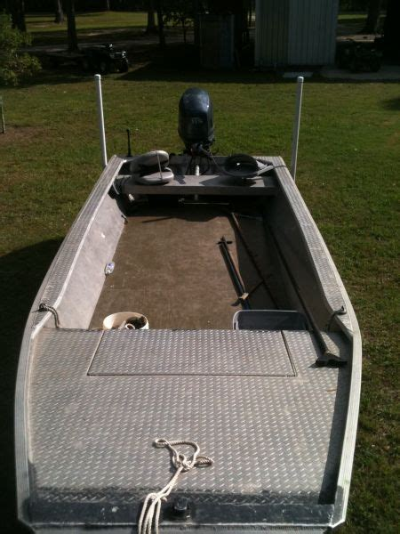 Homemade Jon Boat Trailer by 2008 Homemade Flat Jon Boat For Sale In Southwest