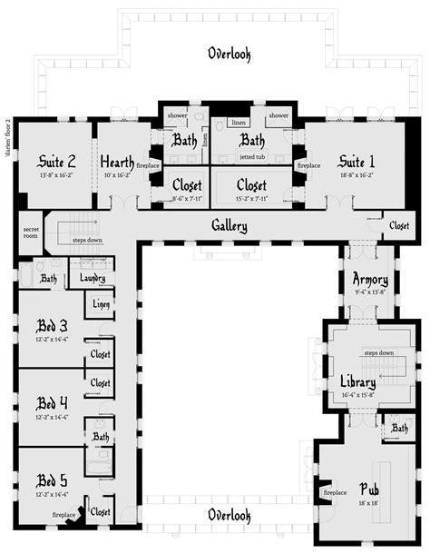modern castle floor plans the floor of the house has a large foyer
