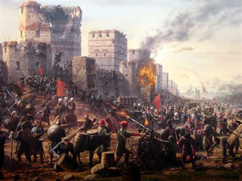 constantinople siege the fall of constantinople late middle ages