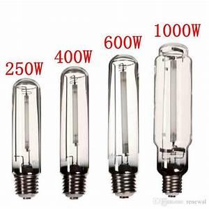 Grow Light Hps Lamp E40 250w  400w  600w  1000w High Pressure Sodium Flower Bulb Flowers Vegetables