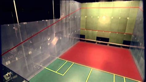Racquetball on a Squash court - YouTube
