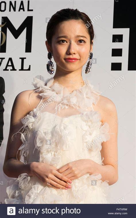 mei nagano bikini tokyo japan 22nd oct 2015 haruka shimazaki actress of