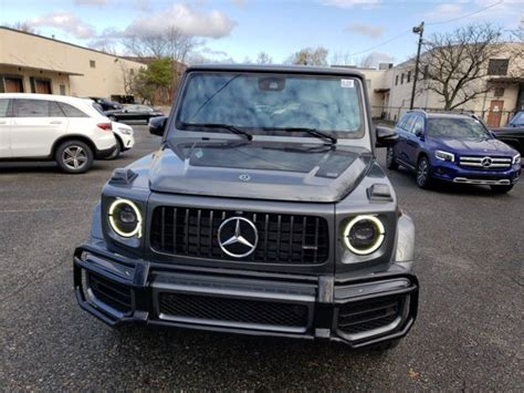 Explore the amg g 63 suv, including specifications, key features, packages and more. New 2021 Mercedes-Benz AMG G 63 4MATIC SUV | Selenite Grey ...