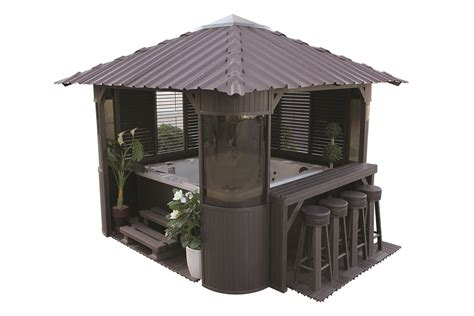 Whirlpool Garten Laut by Whirlpoolhaus Gazebo Quot Frazer Quot Charcoal Canadian Whirlpools