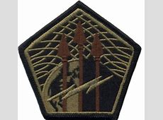 USA Cyber Command Multicam Shoulder Patch With Velcro