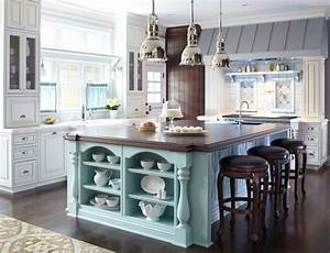 12 great kitchen island ideas traditional home With kitchen decorating ideas for the kitchen island
