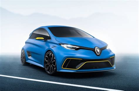 renault zoe renault zoe e sport concept does 0 100km h in 3 2sec