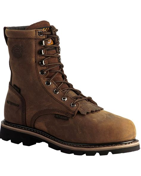 Boot Barn Boots Sale by Justin S Wyoming Waterproof 8 Quot Lace Up Work Boots