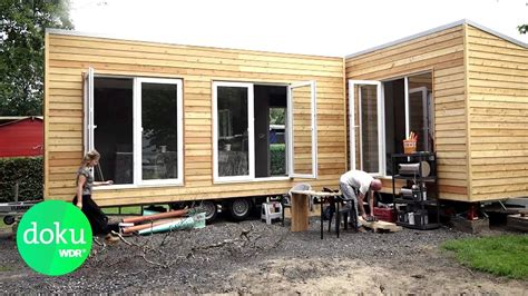 Feststehende Tiny Häuser by Wohnen Leben Im Mini Haus Wdr Doku