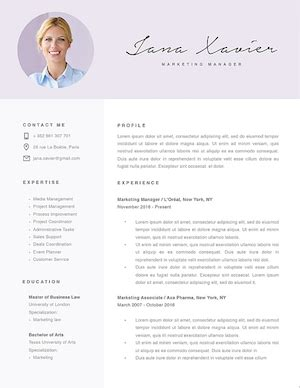 Best Resume Format With Photo by The 17 Best Resume Templates Fairygodboss