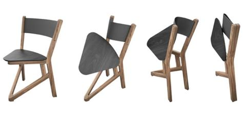 solid wood ladu chair folds flat for easy storage and