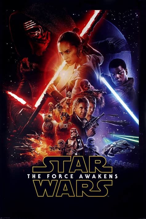Star Wars Episode Vii The Force Awakens Poster Buy