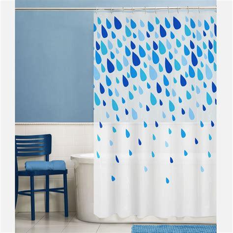 fabric raindrops peva shower curtain shopkocom shower curtains walmart curtains kids