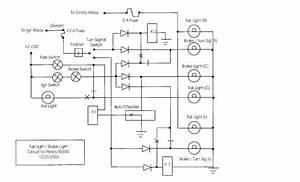 Wiring Gurus  Brake Light  Signal Light In One
