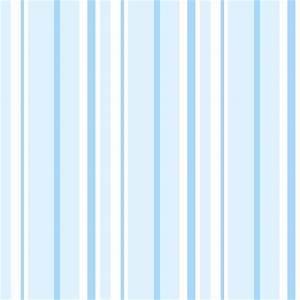 Blue Vertical Striped Wallpaper