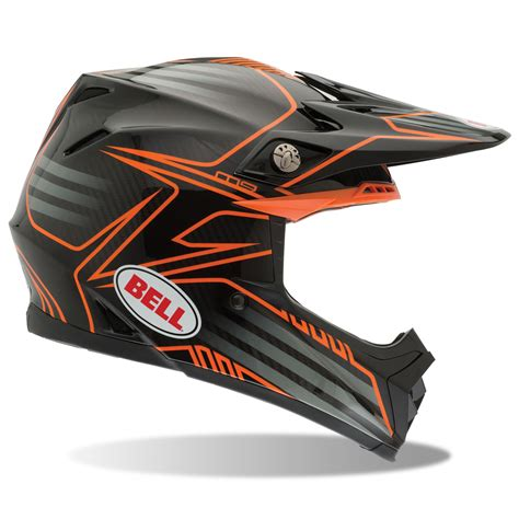 motocross crash helmets bell mx moto 9 pinned off road motocross carbon fibre