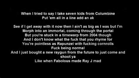 Rap Lyrics  28 Images  Lyrics Coming At You At
