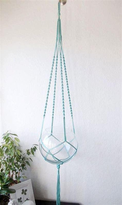 decorative plant hangers indoor modern macrame plant hanger many colors boho indoor plant