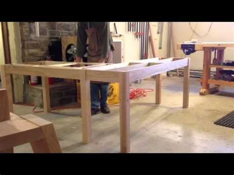 how to build an l shaped desk from scratch l shaped desk design youtube