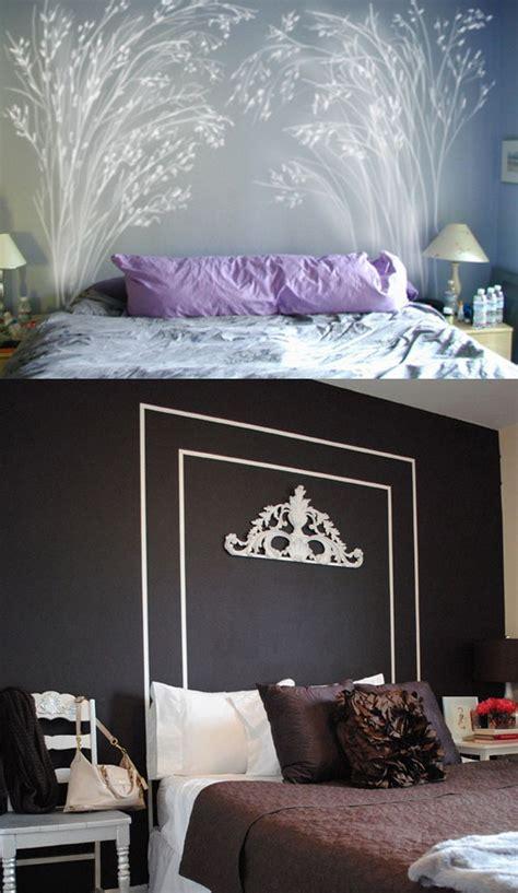 ideas  simple   diy headboards top decor