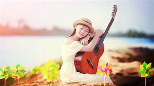 Girl Guitar Love of Music HD Wallpapers - New HD Wallpapers
