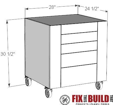 table  cabinet diy storage fixthisbuildthat