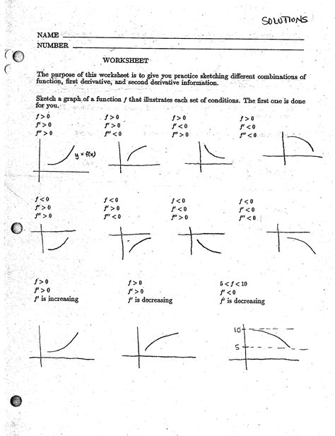 calculus worksheets derivatives worksheets for all