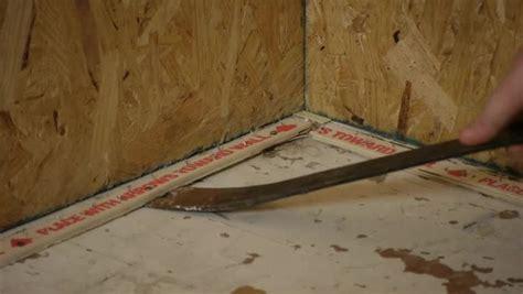 video   remove vinyl asbestos tiles nailed tack